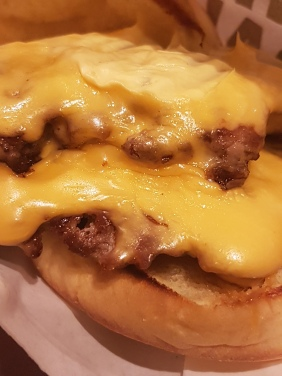 oozing with cheese